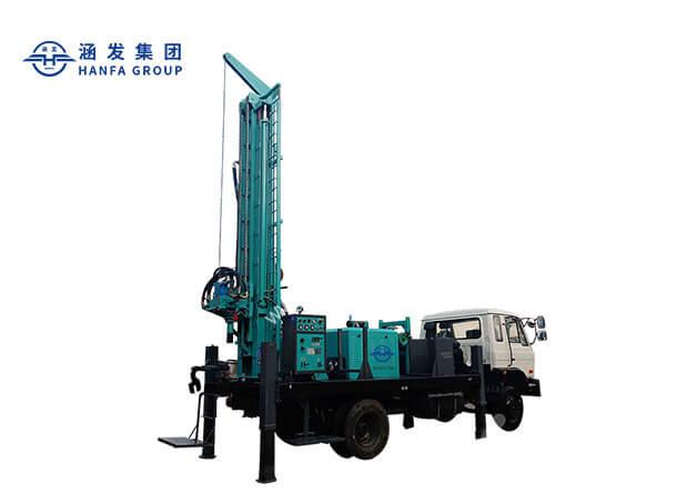 HFJ350KT truck mounted drilling rig