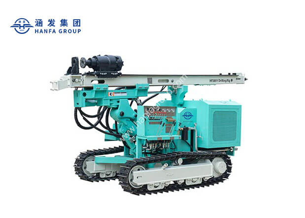 HF385YPhotovoltaic Solar Pile Drilling Rig