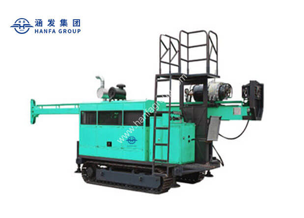 HFDX-4 Full Hydraulic Core Drilling Rig