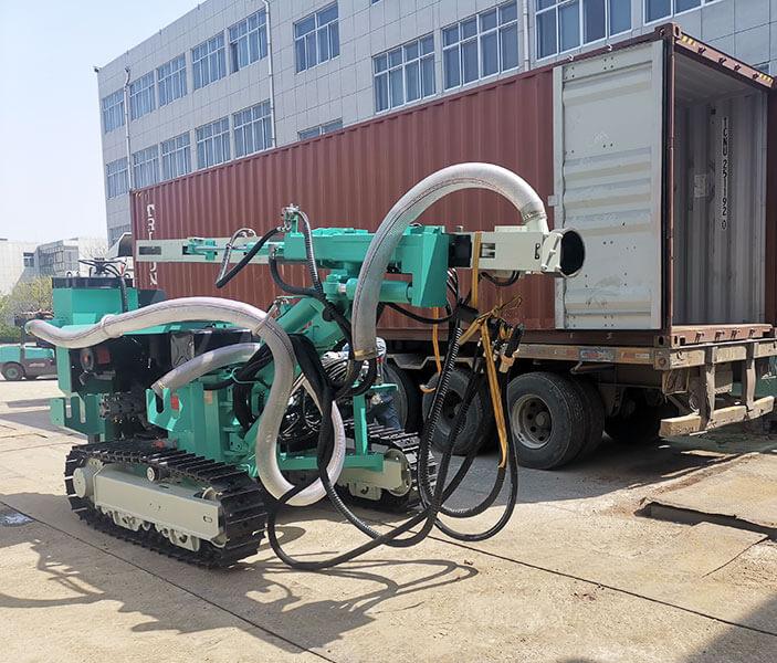 HF115Y DTH Drilling Machine Sent To Australia